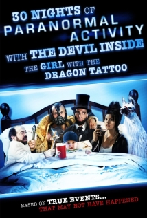 Watch 30 Nights of Paranormal Activity with the Devil Inside the Girl with the Dragon Tattoo Online