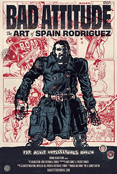 Watch Bad Attitude: The Art of Spain Rodriguez Online