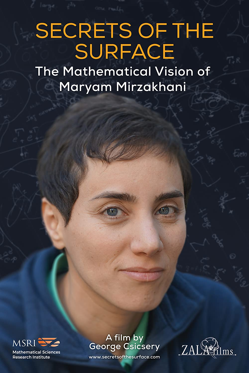 Watch Secrets of the Surface: The Mathematical Vision of Maryam Mirzakhani Online