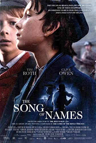 Watch The Song of Names Online
