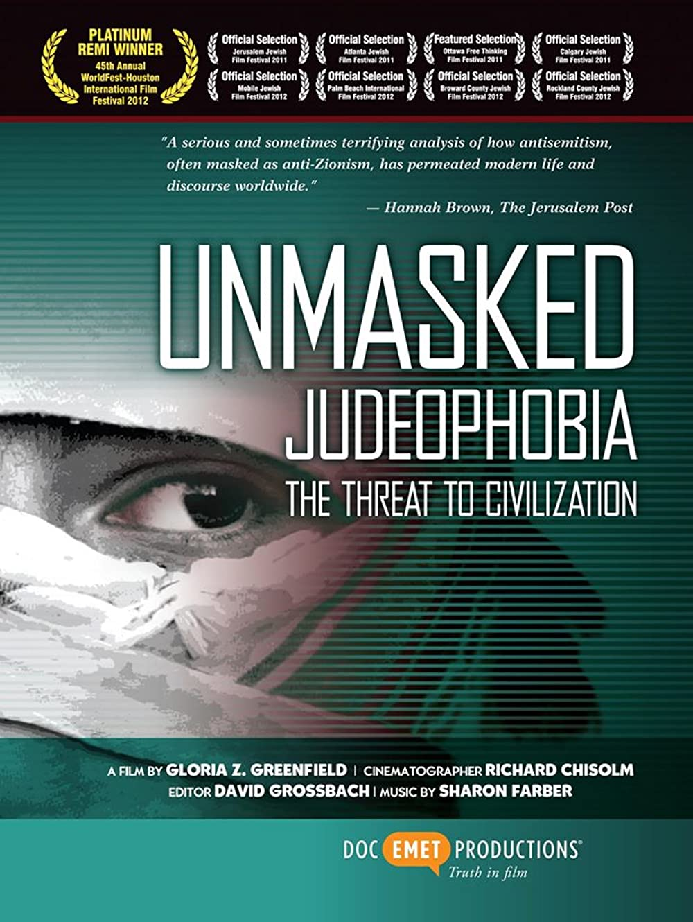 Watch Unmasked Judeophobia: The Threat to Civilization Online