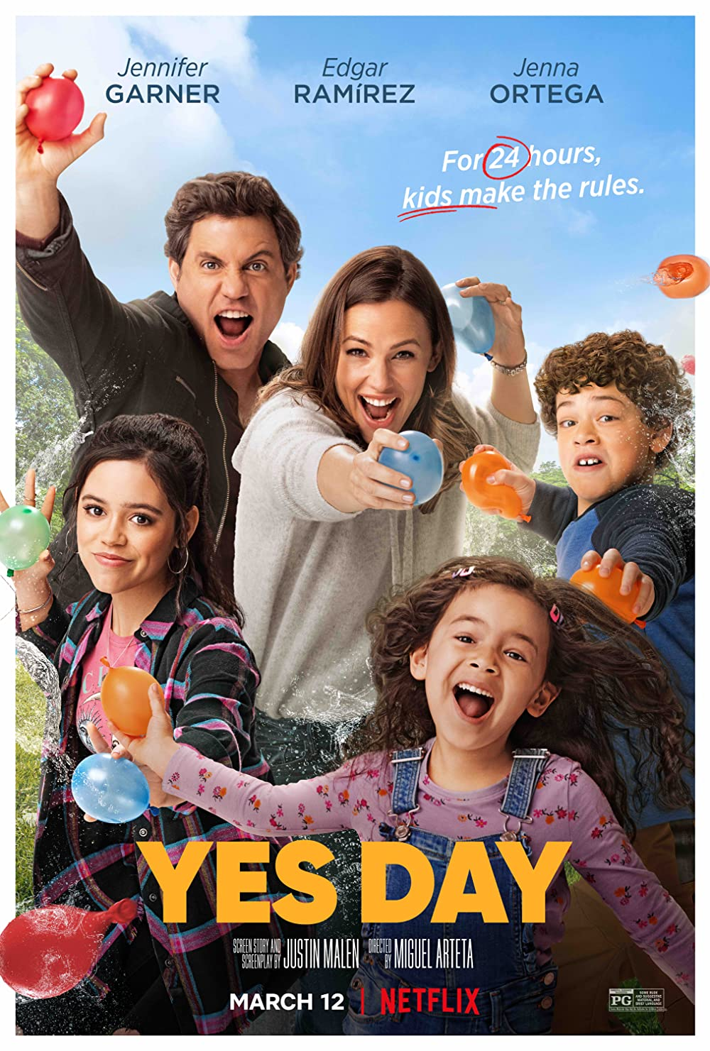 Watch Yes Day Online